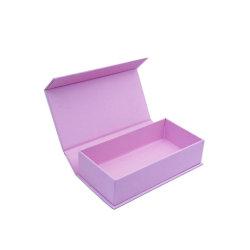 친환경 무광택 단단한 종이 책 모양 플립 쥬얼리 장식용 판지 초콜릿 상자를 포장합니다