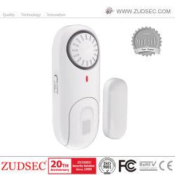 Sécurité sans fil porte fenêtre magnétique / alarme pour la sécurité d'accueil
