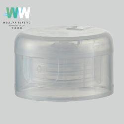 Ronda transparente cierre suave Flip Top la tapa para la botella de plástico