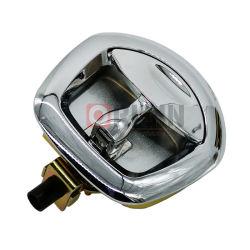 Mme982 Plaque ronde en alliage de zinc de serrure de porte du panneau électrique