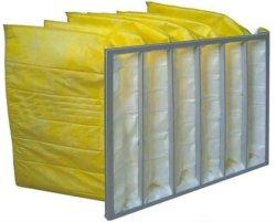 Filtre de poche avec tissu Non-Woven Média pour système de climatisation