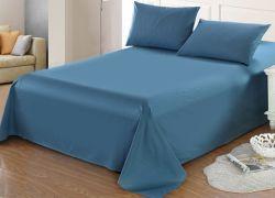 공장 가격 침대 덮개 장 폴리에스테와 면 침대 시트 세트