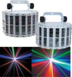 Светодиодная панель освещения мини проектор двойной Дерби Disco лампа для светодиодного событие стадии