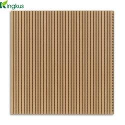 G10 capas decorativas acústica de madeira do painel de parede para Home Theater