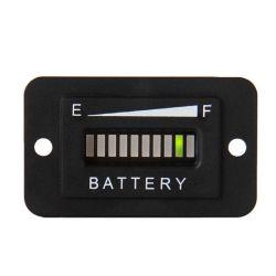 LED 48 V batterie Jauge Entladung Anzeige mètre Ladung Testeur de batterie à LED état Anzeige Ladung surveiller la jauge de compteur