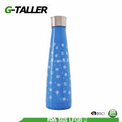 Botella de agua reutilizable de acero inoxidable para niños