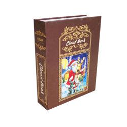 メリークリスマスのギフト用の箱は装飾的なボール紙の記憶の紙箱の小さいギフト用の箱セットを個人化した