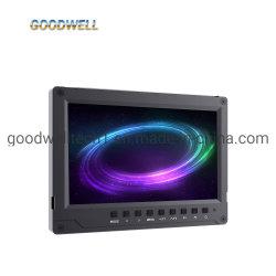 """가득 차있는 HD 1920X1200 알루미늄 디자인 LCD 모니터 7 """" 4K HDMI 에 사진기 모니터"""