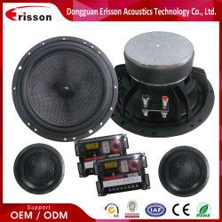 6.5 pouces 2way Loud l'organe de porte de voiture parleur audio haut-parleurs et tweeters