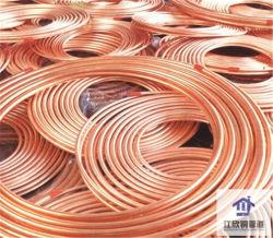 Panqueca de cobre do tubo de Bobina Conectores de tubo de refrigeração