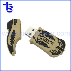 ギフトとしてブートの形USBのフラッシュ・メモリ