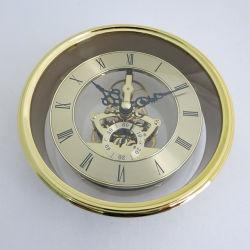 Le parti di rame dell'orologio degli inserti di scheletro dell'orologio del metallo si dirigono gli orologi dell'inserto della decorazione