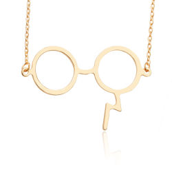 Óculos grossista relâmpagos Matel Ligas de joalharia pendente de moda jóias Colar
