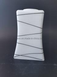 Mond Geblazen Opalen beëindigt Mat de Vierkante Schaduw van de Lamp van het Glas van de Blaker van de Muur van de Inrichting van de Verlichting van de Tegenhanger van Lampekappen Witte