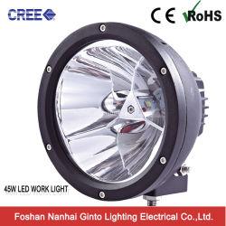 4X4 丸型 12V Cree LED スポットライトオフロードジープ SUV 用 GT6606 ( 45W ~ 45W 7inch )