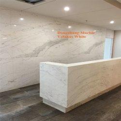 Haute qualité dalles Pirgon Volakas/Blanc/carreaux pour Walling/Flooring/comptoir/Cuisine/Salle de bains en marbre blanc/