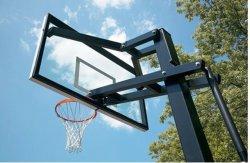 Im Freienhöhe Ajustable Basketball-Rückenbrett-Torpfosten