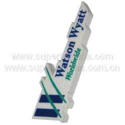 Em forma de Silicone personalizado unidade Flash USB (S1A-5015C)
