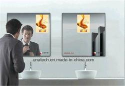 Toilette intérieure de la publicité s'affiche de la signalisation composent Miroir Magique Boîte à lumière