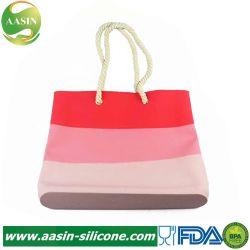 Mesdames imperméable de haute qualité couleur mixte Sac shopping en silicone