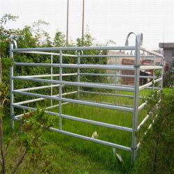 Rail ovale Heavy Duty Triage de chevaux, bovins Panneaux Les panneaux de chantier
