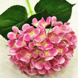 Fleur artificielle de mariage de l'Hydrangea Fleurs pour la décoration d'accueil