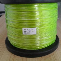Câble vert lime luminescents EL sur le fil 500D'un rouleau doseur