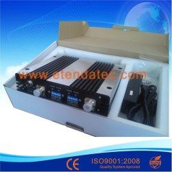 27dBm 80db Se Doblan Repetidor del Aumentador de Presión CDMA PCS de la Señal de la Venda