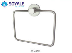 Tuch-Ring des Edelstahl-304 mit Pinsel-Nickel-Fertigstellung Sy-2460