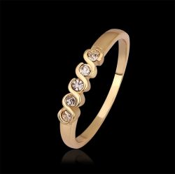 Großhandels18k Gold Plated Fashion Womens Rings Jewelry Kr565