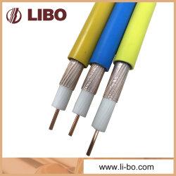 75 undichtes Zufuhr-Kabel des Ohm-Slywv-75-10 für Gruben