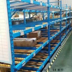 Подставка для свободной от складского оборудования полки свободно динамического потока стеллаж