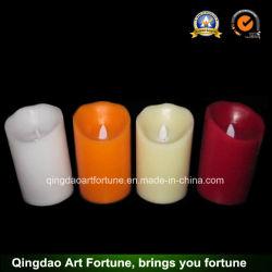 Déplacement de la mèche Flameless Candle LED pour l'hôtel Home Decor