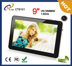 "Новинка! ! ! Тонкий 9"" емкостный экран 512 МБ/8 Гбайт Два камеры Android Tablet PC"