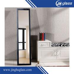 4mm de longitud completa de plata Espejo Espejo vestidor