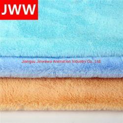 Tessuto da arredamento 100% della pelliccia del Faux del coniglio del poliestere per i giocattoli
