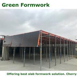 Matériau de construction formulaire de table de coffrage vert utilisé pour la construction