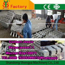 Lite Block Matrijs Interlocking Foam Machine Clc Lichtgewicht Blokvorm In Dominicaanse