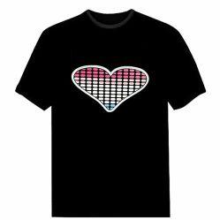 Aangepast El Sheet Car Sticker Sound Activated LED-knipperpaneel Voor T-shirt