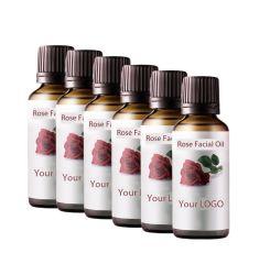 OEM Mayoreo aceite esencial Rosa Salón de belleza facial Cuidado de la piel
