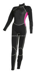 여자의 긴 내오프렌 잠수용 고무옷 스포츠 착용 수영복
