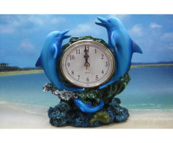 Última moda Polyresin artesanía reloj