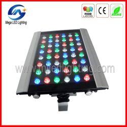 RGBW DMX Éclairage extérieur LED plat