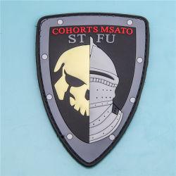 Militaire stijl 3D Embossed Rubber Patch PVC badge