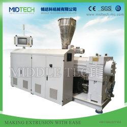 Prix compétitif pour le plastique PVC/SPVC/WPC Bois composite Machine extrudeuse à double vis conique de compoundage en plastique