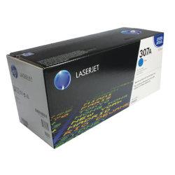 Une véritable qualité d'origine 307 cartouches de toner HP CE740A742CE741un ETD un ETD743un 307une cartouche de toner