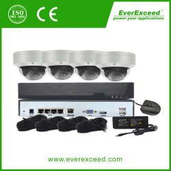 4-канальный, 5,0-мегапиксельный, PoE, IP-камера, система видеонаблюдения, безопасность, PoE Комплект NVR от поставщиков камер CCTV