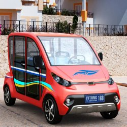 Electric Fuel Power 4 Seaters Electric Family Utility Car