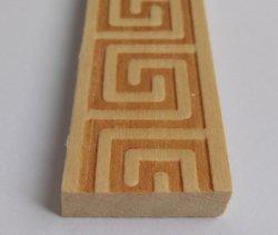 قوالب خشبية صلبة منقوشة يدويًا ومكيّنة على الساخن للمقصورة الديكور