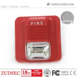 stroboscopio del suono del segnalatore d'incendio di incendio 12/24V